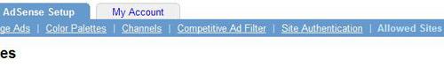 Adsense dozvoljeni sajtovi