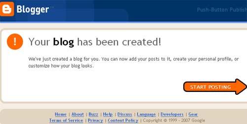 blog je kreiran