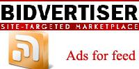 bidvertiser reklame u rss feed-u