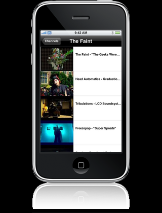 iPhone softver
